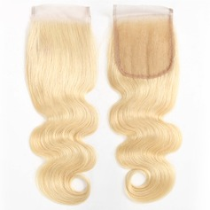 """4""""*4"""" 4A Non remy Body Human Hair Closure (Sold in a single piece) 40g"""