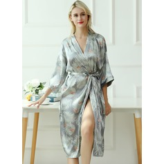 Bride Bridesmaid Floral Robes