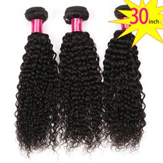 30 inch 8A Brazilian Virgin Human Hair Kinky Curly(1 Bundle 100g)