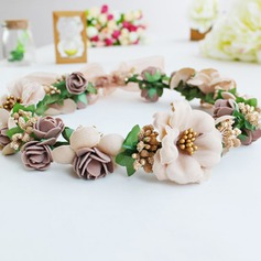 Beautiful Silk Flower Headbands