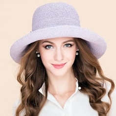 Elegant Polyester Floppy Hat/Kentucky Derby Hats