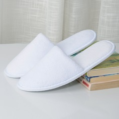 Casual Simple Solid Color Cotton Slippers (203168984)