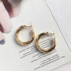 Ladies' Classic Alloy Earrings For Her