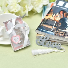 """Love Story"" Stainless Steel Bookmarks"