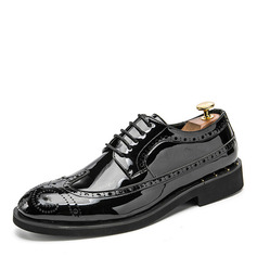 Men's Leatherette Lace-up Casual Dress Shoes Men's Oxfords (259208034)