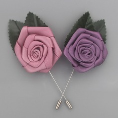 Klassische Art Satin Knopflochblume (Sold in a single piece) -