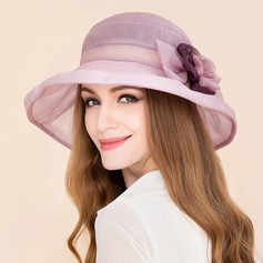Ladies' Classic Silk With Rhinestone Floppy Hats/Kentucky Derby Hats/Tea Party Hats
