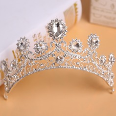 Ladies Gorgeous Rhinestone/Alloy Tiaras (042113728)