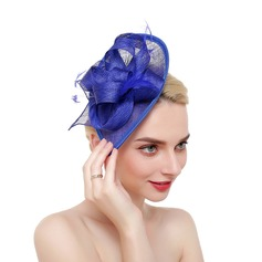 Ladies' Fashion/Classic/Simple Net Yarn With Feather Fascinators