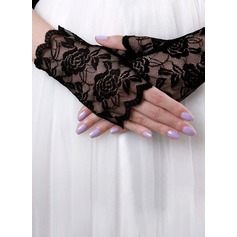 Lace Wrist Length Bridal Gloves (014151722)