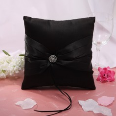 Ring Pillow With Rhinestones
