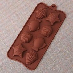 Beach Theme Silicone Cake Mould
