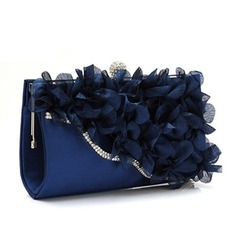 Gorgeous Satin/Crystal/ Rhinestone Clutches