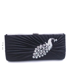Elegant Satin/Crystal/ Rhinestone Clutches/Totes/Luxury Clutches