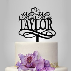 Personalized Acrylic Cake Topper (119119779)