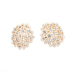 Gorgeous Alloy With Rhinestone Women's Earrings