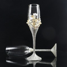 Beautiful Toasting Flutes With Rhinestone (Set Of 2) (126172508)