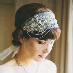 Rhinestone Headbands With Rhinestone/Imitation Crystal (Sold in single piece)