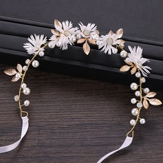 Beautiful Alloy/Imitation Pearls Headbands (Sold in single piece)