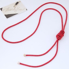 Fashional Alloy Braided Rope Ladies' Fashion Necklace