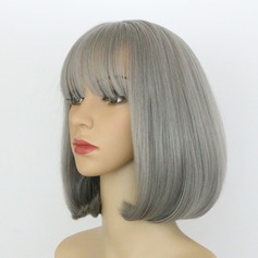Straight Bob Synthetic Wigs Cosplay Wigs