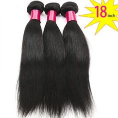 18 inch 8A Grade Brazilian Straight Virgin human Hair weft(1 Bundle 100g)
