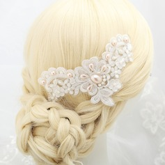 Gorgeous Imitation Pearls/Lace Headbands