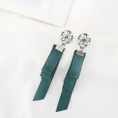Fashional Alloy Satin Ladies' Fashion Earrings