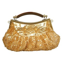 Fashional Satin/Sequin Clutches/Wristlets