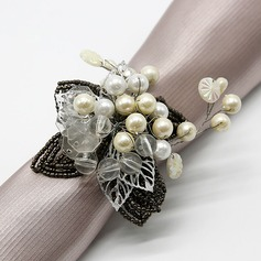 Classic Beaded Napkin Rings