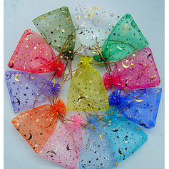 The Moon And The Stars Other Organza Favor Bags With Gold Line