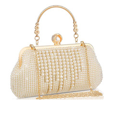 Elegant/Classical Pearl Clutches/Bridal Purse/Evening Bags (012224638)