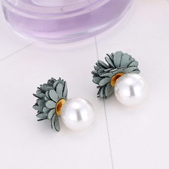 Nice Imitation Pearls Copper With Imitation Pearl Ladies' Fashion Earrings