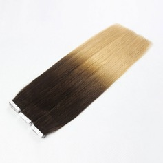 5A Virgin/remy Straight Human Hair Tape in Hair Extensions 20PCS 40g