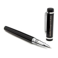 Groom Gifts - Personalized Classic Alloy Rollerball Pen