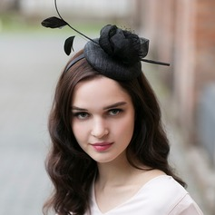 Dames Prachtige/Betoverend/Elegant Batist met Feather Fascinators