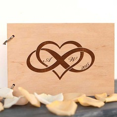 Personalized Wood Guestbook (101215537)