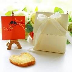 """Sweet Love""/""Happy Time"" Card Paper With Ribbons"