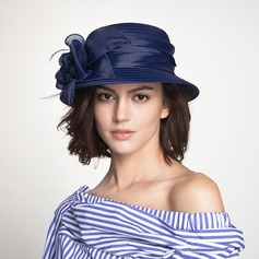 Ladies' Beautiful Polyester With Flower Bowler/Cloche Hat