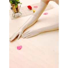 Spandex Opera Length Bridal Gloves (014151724)