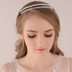 Ladies Simple Crystal/Alloy/Czech Stones Tiaras