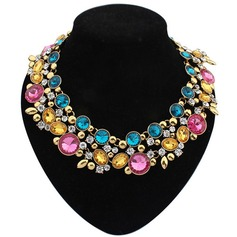 Beautiful Alloy/Acrylic Ladies' Necklaces