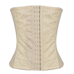 Women Sexy/Night Club Polyester/Spandex Low Waist Waist Cinchers With Lace Shapewear