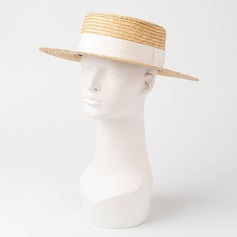 Couples' Simple/Handmade Rattan Straw Straw Hats/Kentucky Derby Hats