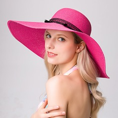 Ladies' Elegant Raffia Straw Beach/Sun Hats