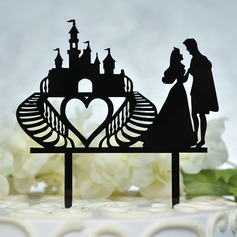 Mr. & Mrs. Acrylic Cake Topper