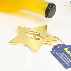 Non-Personalized Star Shape Alloy Bottle Openers