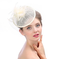 Ladies' Beautiful/Gorgeous/Fashion Cambric With Feather/Flower Fascinators