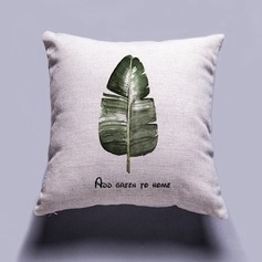 Green Plant Style Traditional/Classic Pillowcases (Sold in a single piece)