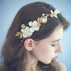Ladies Unique Alloy/Plastic Headbands With Rhinestone
